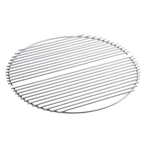 höfats - Bowl Grillrost zweiteilig - verwandelt Bowl Feuerschale in einen Grill - verchromter Stahl - Zubehör für Bowl Feuerschale
