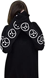 Jushye Women's Hoodies, Ladies Autumn Hoody Sad Faces Emoticon Sleeves Printed Sweatshirt Long Sleeve Blouse Tops Pullover