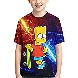 YYTY Simp-Son  6  Hemd Jungen Mädchen T-Shirt Mod