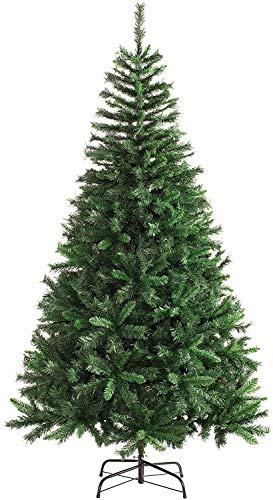 TIENDA EURASIA® Árbol de Navidad - Árboles de Navidad Artificiales - Soporte de Pie Metálico - Medidas 90-210...