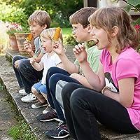 SUFUS Stampi per Gelato, Stampi ghiaccioli Stampi per Gelati 6 Produttori di Ghiaccioli, FDA e BPA Gratis, Ideale per la Preparazione di ghiaccioli, Gelati, sorbetti (Verde) #8