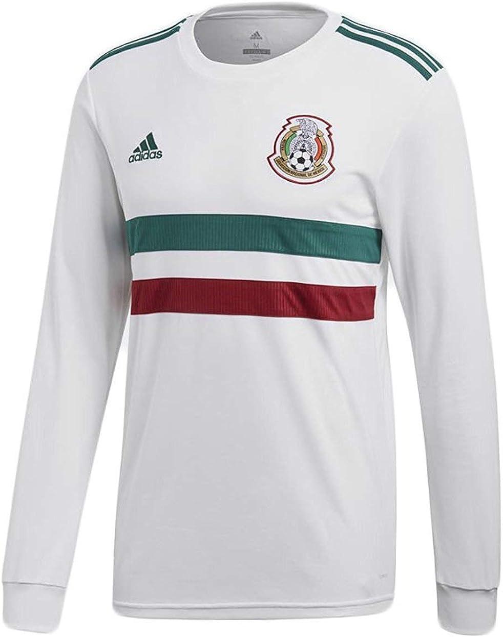 Amazon.com: adidas Mexico 2018/19 Away LS Jersey : Sports & Outdoors