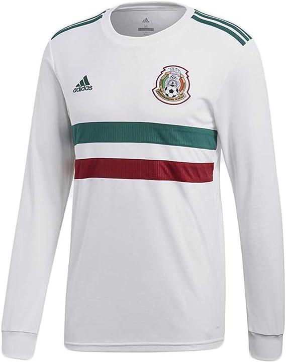 adidas Mexico 2018/19 Away LS Jersey : Sports ... - Amazon.com
