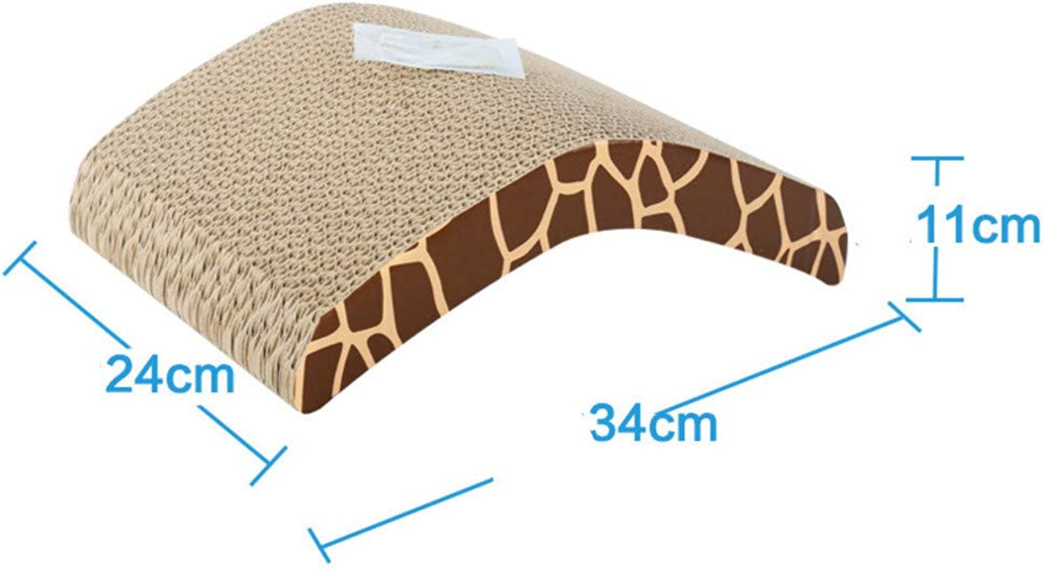 Corrugated Paper Grabbing Claw Plate wearResistant cat Scratch pad cat Toy D