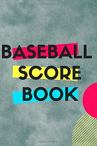 Baseball Score Book: Scoring Card Books for Board Games & Sports Pocket size Scoring Sheet Notebook