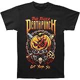 Five Finger Death Punch Men's GY6 Halloween T-Shirt 2XL Black
