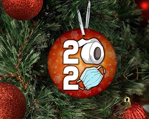 Papel Higiénico Navidad Ornamento Marca None-brands