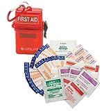 Lifeline 29-Piece Waterproof First Aid Kit (Red)