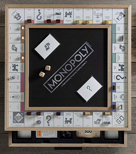 WS Game Company Monopoly Luxe Maple Edition