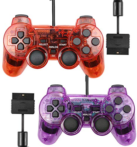 Wired Controller for PS2 Playstation 2 Dual...