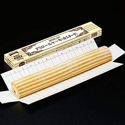 【冷凍】 業務用 テーブルマーク カスタード PS ロールケーキ 200g 冷凍 フリーカット カスタード ロール ケーキ