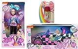 JoJo Siwa 10' Fashion Doll and Car with Bonus JoJo Lipgloss-Bundle of 3 Items