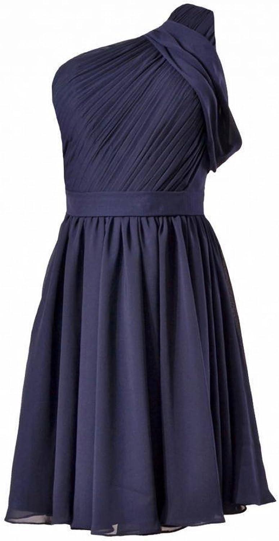 DaisyFormals reg; Vintage One Shoulder Party Dress Short Bridesmaid Dress(BM280)