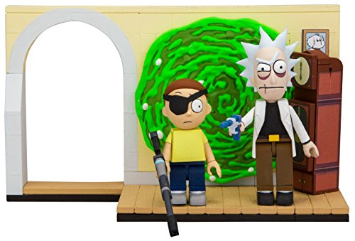 Evil Rick And Morty Construction Set