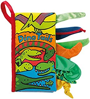Jellycat Bez Kitap/Dino Tails Book Eğitici Kitap Standart STD