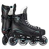 TOUR Mens Volt Kv4 Inline Hockey Skate, Adult, Black, 7 M US