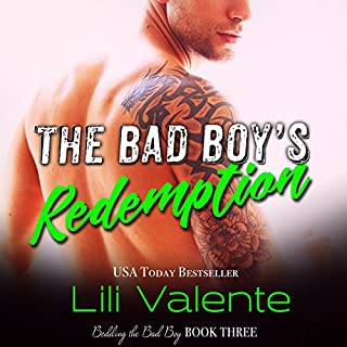 The Bad Boy's Redemption audiobook cover art