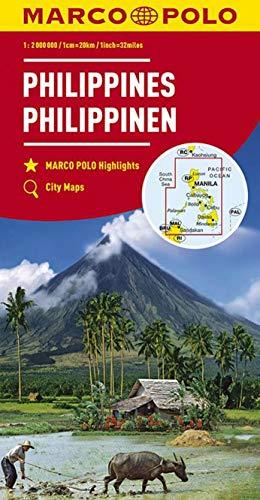 MARCO POLO Kontinentalkarte Philippinen 1:2 000 000: Wegenkaart 1:2 000 000 (MARCO POLO Kontinental-/Länderkarten)