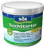Söll 12080 TeichStarter Universal-Wasseraufbereiter für den Gartenteich 500 g - wasserstabilisierendes Teichpflegemittel zur Teichwasseraufbereitung im Fischteich Koiteich Schwimmteich