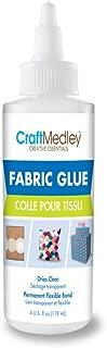 CraftMedley Fabric Glue, 4oz, 4 oz