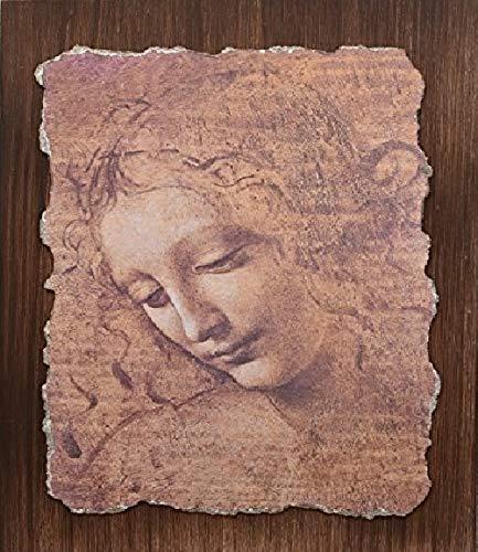 """Ars Martos - """"La scapigliata"""" Leonardo da Vinci. Riproduzione d'Arte in Affesco su Intonaco. Disponibile in varie misure e finiture."""