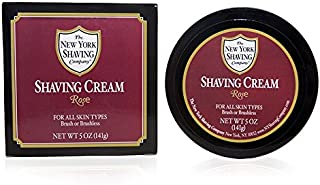 The New York Shaving Company Rose Shaving Cream 5 oz.