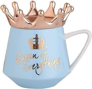 Mug Cup-MOMU,Crown Theme Milk/Coffee Mugs Cartoon MultiColor Mugs Cup Kitchen Tool Gift