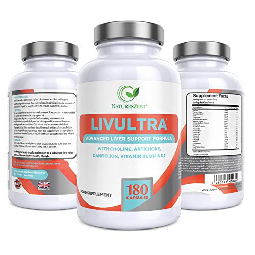 LivUltra High Strength Advanced Liver Support – 2 Month Supply - 22...