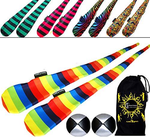 Unbekannt Flames N Games Funky Pro - Juego de 5 pares de calcetines para principiantes y profesionales, diseño de cebra