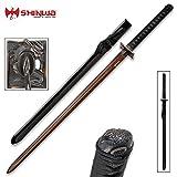 Shinwa Abyss Handmade Katana/Samurai Sword - Double-Edged; Hand Forged...