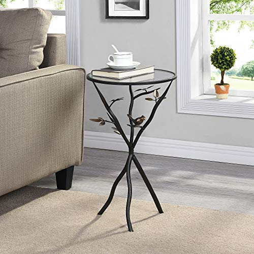 Our #7 Pick is the FirsTime & Co. Aged Bronze and Glass Accent Table