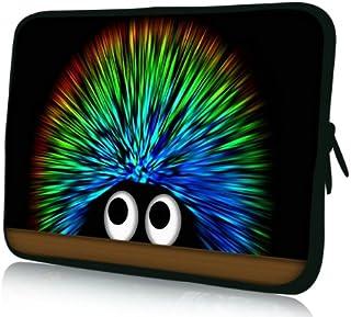 Luxburg® Design Funda blanda para ordenador portátil (15,6pulgadas, motivo: erizo Undercover