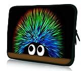 Luxburg® Design Tasche Hülle Sleeve Schutzhülle für Tablet PC 8 Zoll: Apple iPad mini (auch Retina) | Samsung Galaxy Tab 3 (8 Zoll) / Note 8.0 | Intenso TAB814 (8 Zoll) | Asus MeMO Pad 8 | Odys Titan (8 Zoll) | Lenovo IdeaPad Yoga (8 Zoll) | Acer Iconia W3 (8 Zoll) , Motiv: Igel &ercover