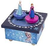 TROUSSELIER - DISNEY - Boîte à Musique Dancing - La Reine des Neiges Elsa & Ana - 2...