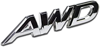 Generic AWD Logo Emblem Tailgate Side Sticker Badge For 4x4 All Wheel Drive SUV Off Road