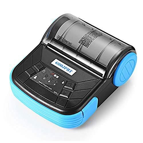 WSMLA Version portative d'imprimante Thermique d'imprimante de Bluetooth d'imprimante Thermique directe de 80mm avec la Batterie