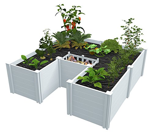 Vita VT17107 6x6 Composting Raised Garden Bed