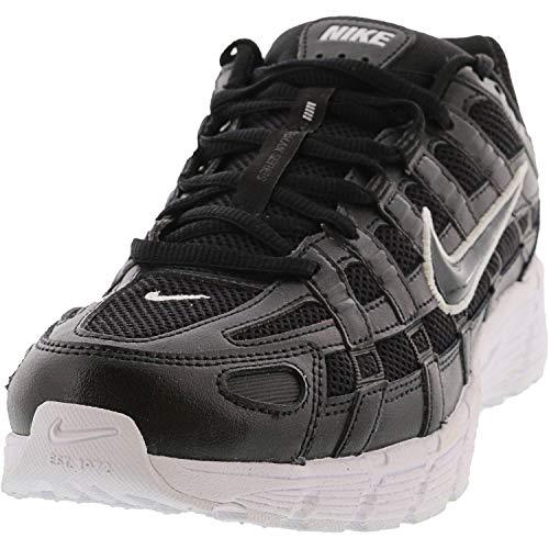 Nike BV1021-004, Running Shoe Mujer, Black/Anthracite-White, 35 EU