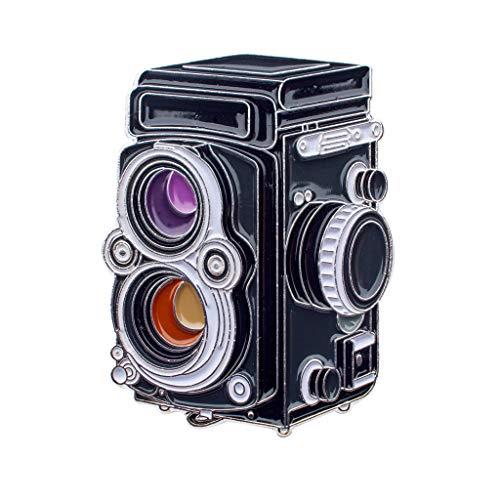 Official Exclusive Rolleiflex - Pin de solapa para fotógrafos (formato mediano, TLR, tamaño mediano)