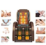 Nfudishpu Space Capsule 8D Home Massage Chair Smart Double SL Guide Robot Multi-function Body Airbag Kneading...