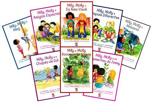 Coleção Milly e Molly c/8 livros