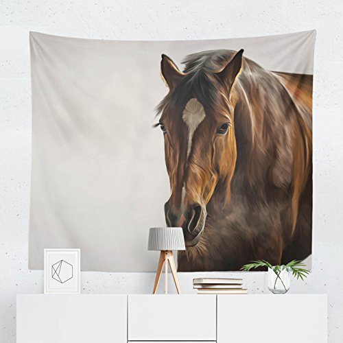 Horse Tapestry - Wall Hanging Decor by WFRANCIS - Printed in the USA - Small Medium Large Sizes