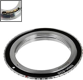 Fotodiox Lens Mount Adapter Compatible with Nikon Nikkor F Mount D/SLR Lens to Canon EOS (EF, EF-S) Mount D/SLR Camera Bod...