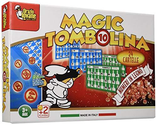 Unogiochi 400 Magic Tombolina Gioco, Multicolore