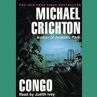 Congo audiobook cover art