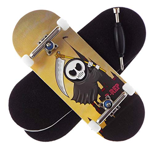 P-REP Little Reaper - Solid Performance Complete Wooden Fingerboard...