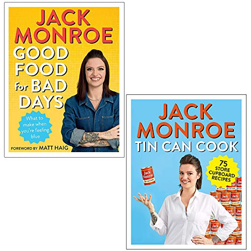 Good Food for Bad Days and Tin Can Cook 75 Simple Store-cupboard Recipes By Jack Monroe 2 Books...