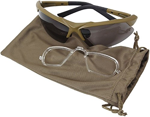 Sunglasses & Goggles Coyote Brown Spec-Ops Military Ballistic Glasses Tactical Eyewear Kit