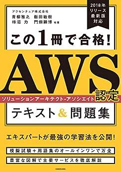 [アクセンチュア株式会社]のこの1冊で合格! AWS認定ソリューションアーキテクト - アソシエイト テキスト&問題集