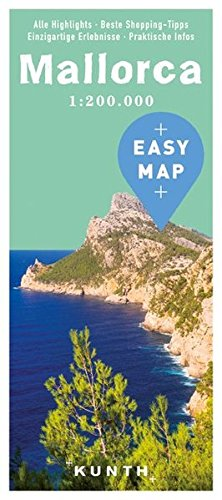 EASY MAP Europa MALLORCA: 1:200000